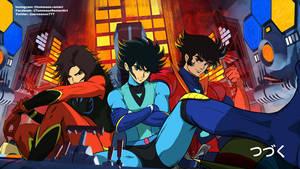 Duke, Koji and Tetsuya