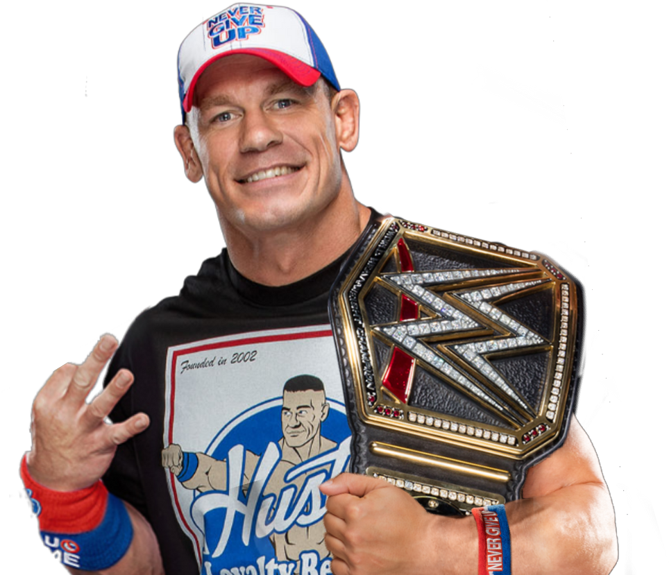 John Cena WWE World Champion by ZetDean on DeviantArt