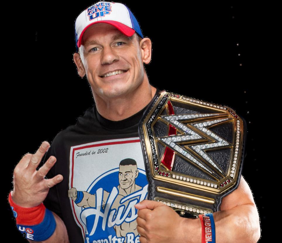 John Cena WWE World Champion by ZetDean on DeviantArt