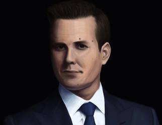 Harvey Specter by KaiGRT