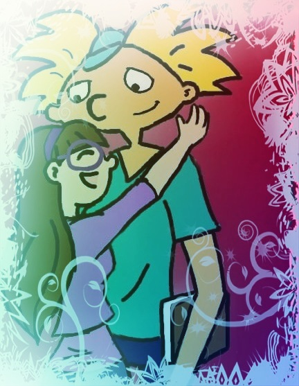 Arnold and Rachel-Hug~Fan-fic~ by starwriterforthewinn