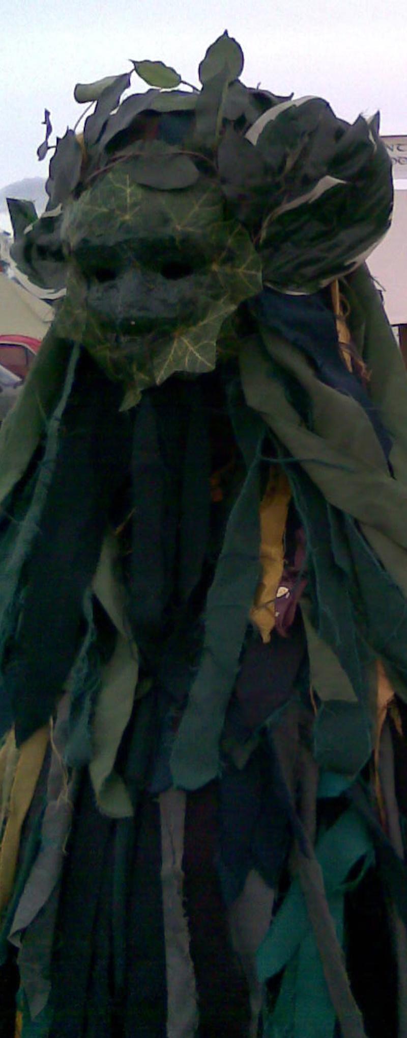 The Green Man by saxonraven