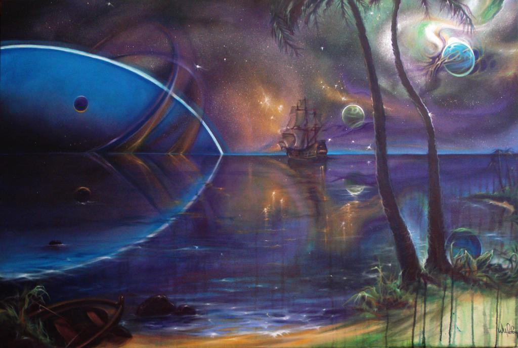 Space Ship by Wuzzymane