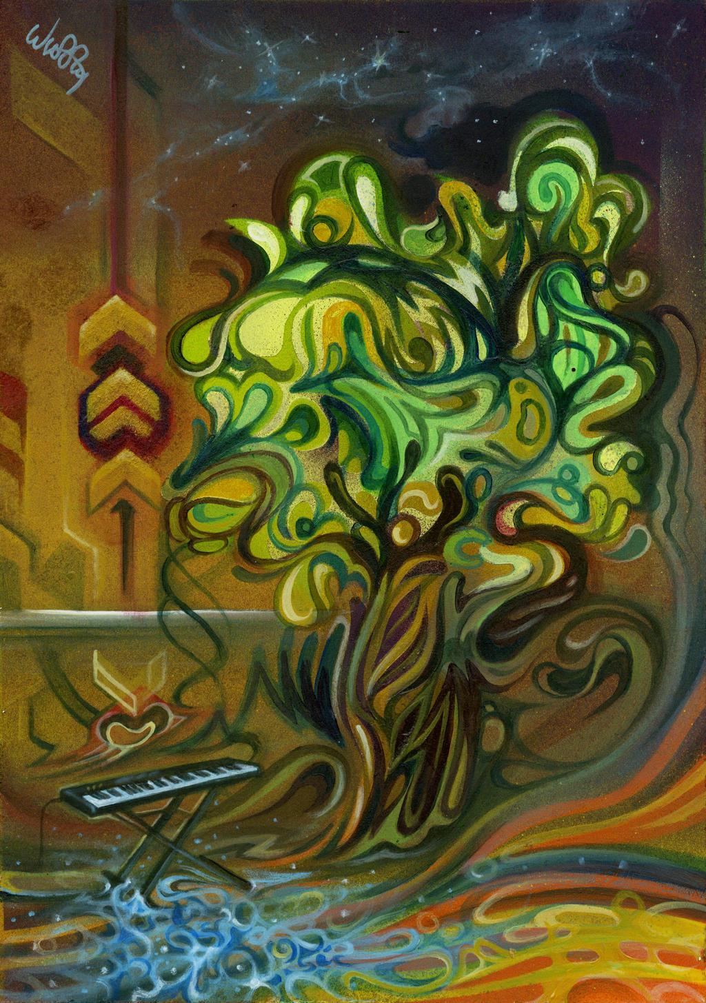Techno tree by Wuzzymane