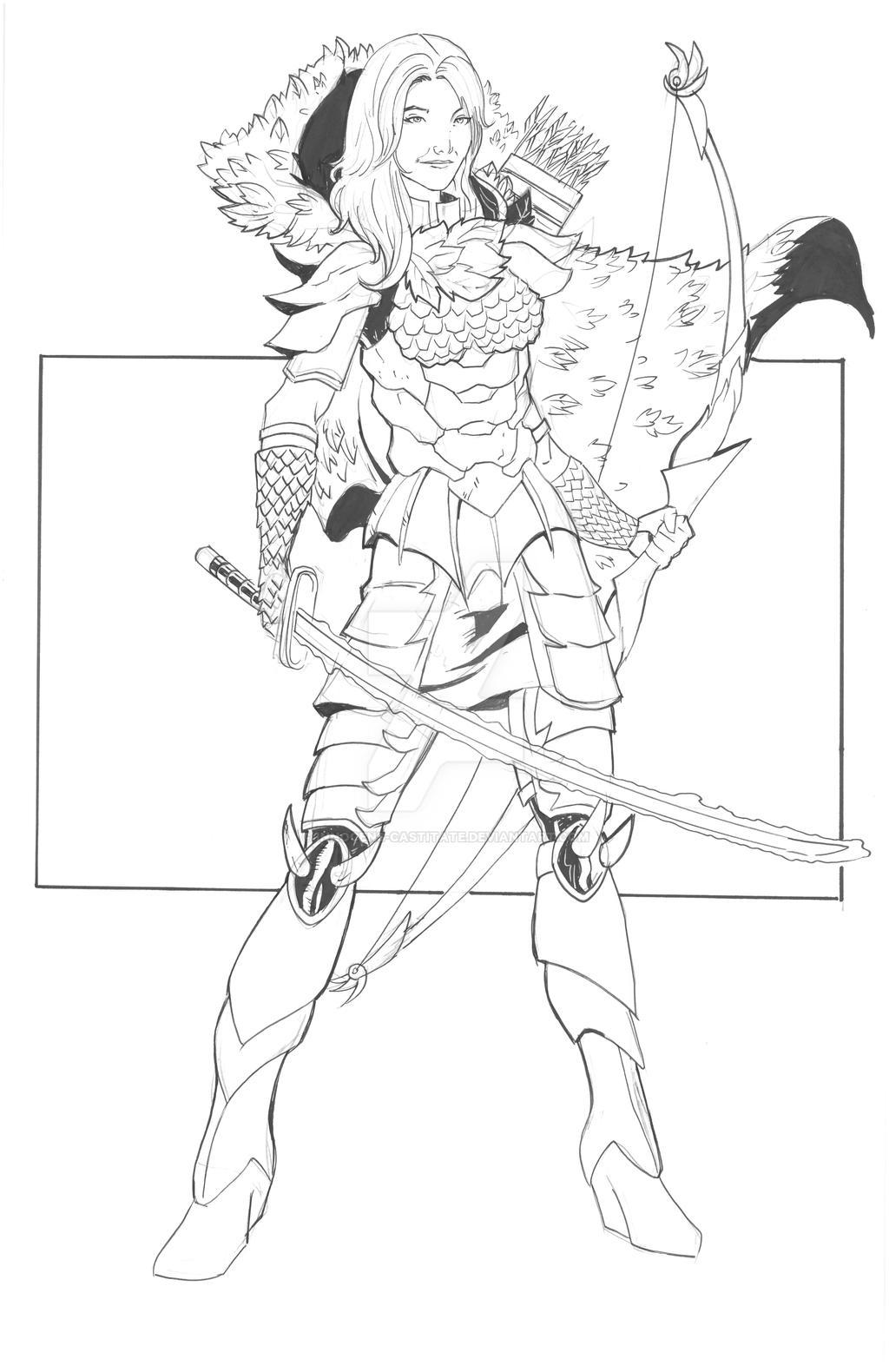 Character Designs: Nicola The Ranger