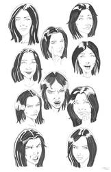Valeria Mordovskaya facial expressions by Innocens-Castitate