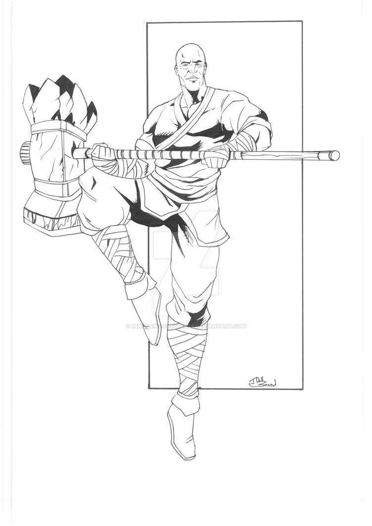 Paka The Monk by Innocens-Castitate