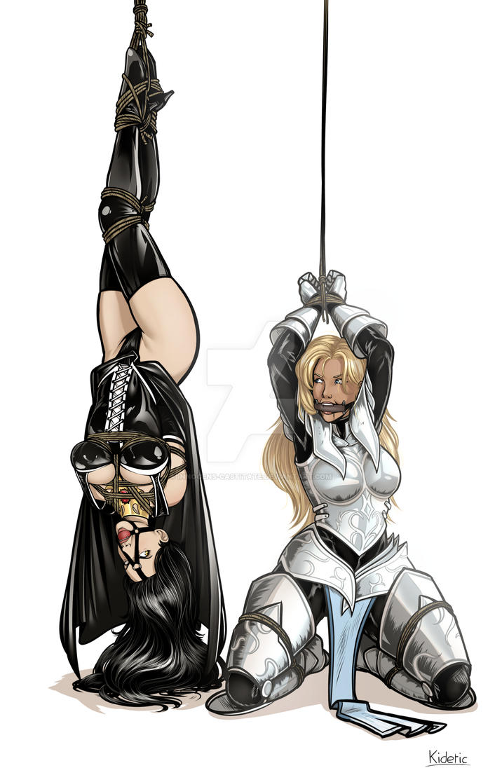 Trussed up pair by Innocens-Castitate