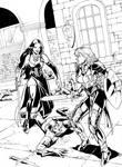 Anna VS The Vampire Queen  by Innocens-Castitate
