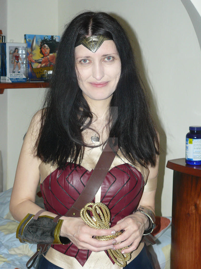 Erika Wonder Woman Cosplay 3 by Innocens-Castitate