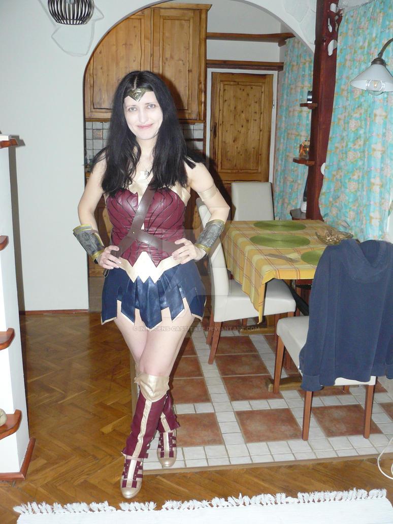 Erika Wonder Woman Cosplay 4 by Innocens-Castitate