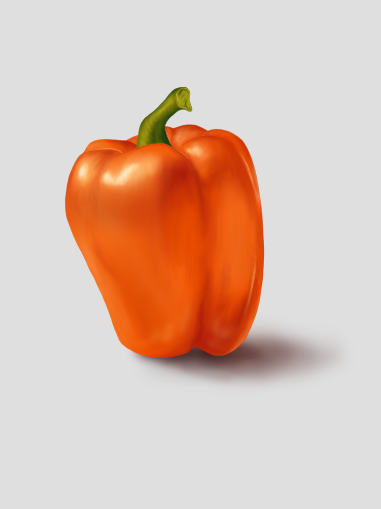 Bell Pepper Practice by TracerBullit