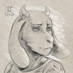 Toriel Sketch