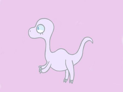 Marnie the Dinosaur by Lioness-Cub