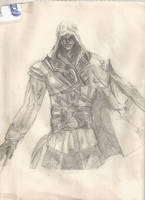 Ezio Auditore by Ashley-Day
