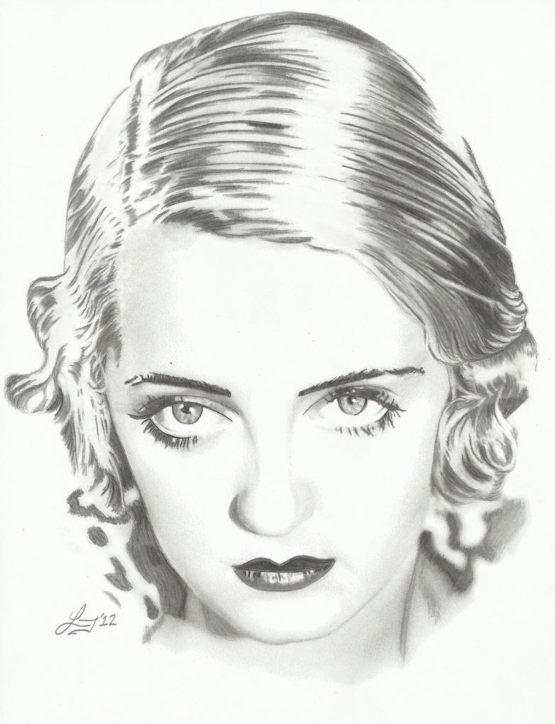1927 Betty Davis by lryvan