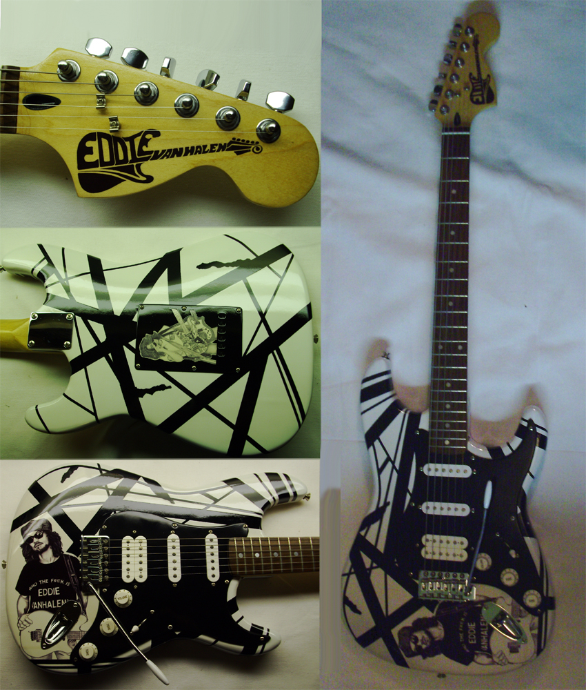 My tribute to Eddie Van Halen guitar! by lryvan
