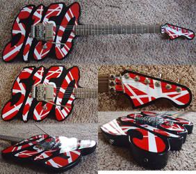 5150 body guitar my copyright is pending! by lryvan