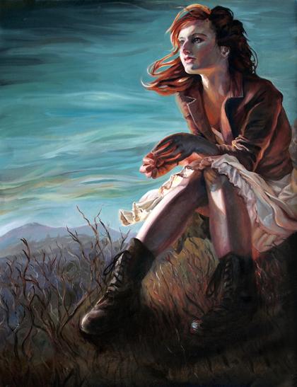 Self Portrait in Toscana by HulloAlice