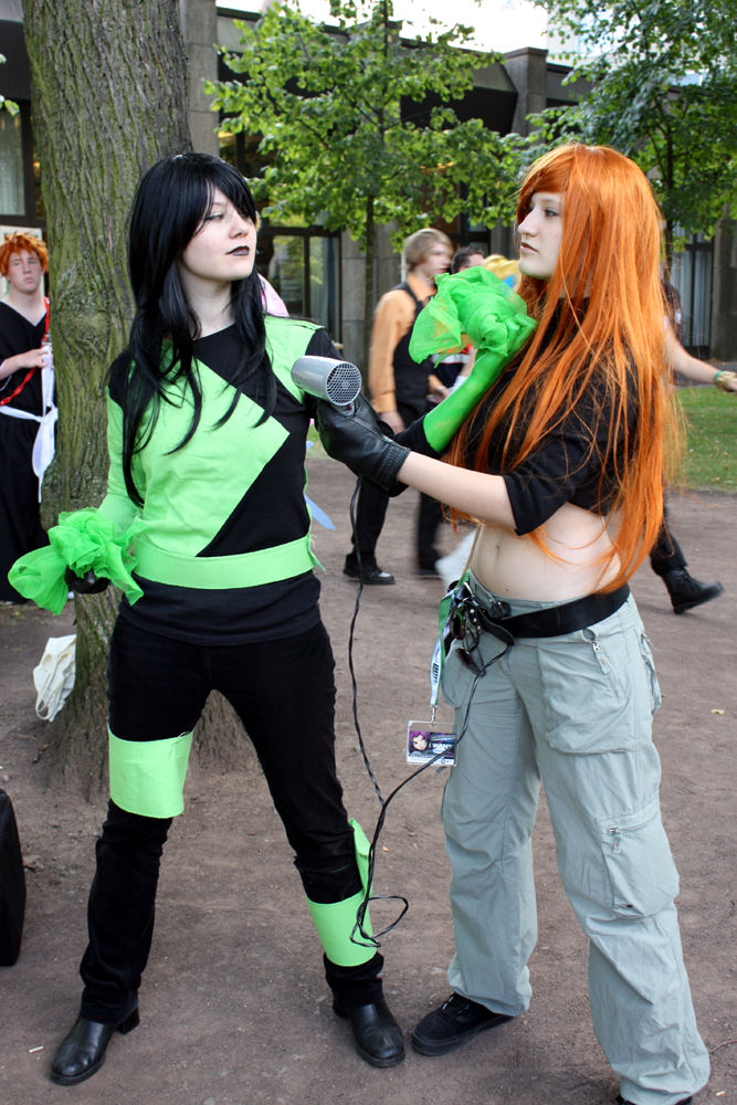 Shego   Kim Possible Cosplay by Yubisaki busty mature slut zoey holiday is into hardcore