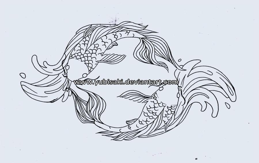 Pisces yin yang tattoo by yubisaki on deviantart pisces yin yang tattoo by yubisaki sciox Gallery