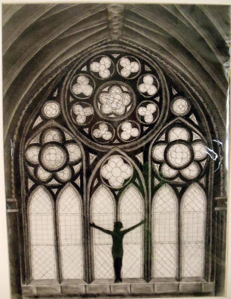Gothic Windows By Mhelms12