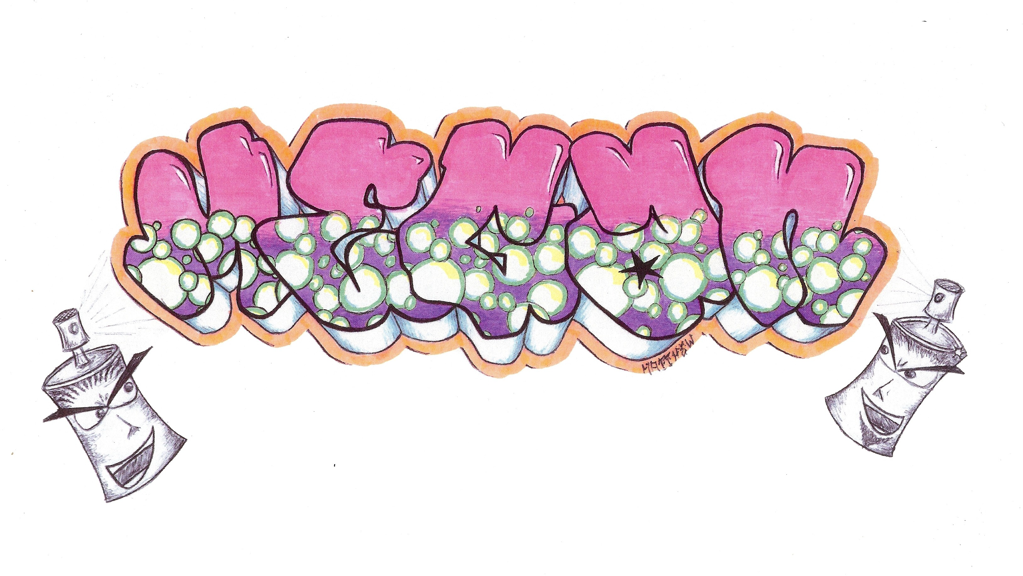 Megan Graffiti By Mhelms12 On Deviantart