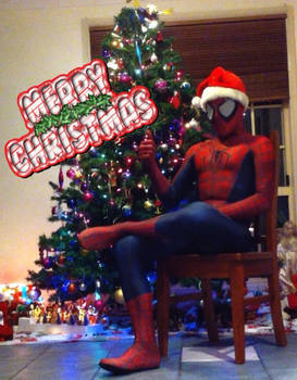 A merry spidey Christmas