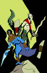 Mike Mignola (Inspired) Legacy of Kain by Jester-Hellequin