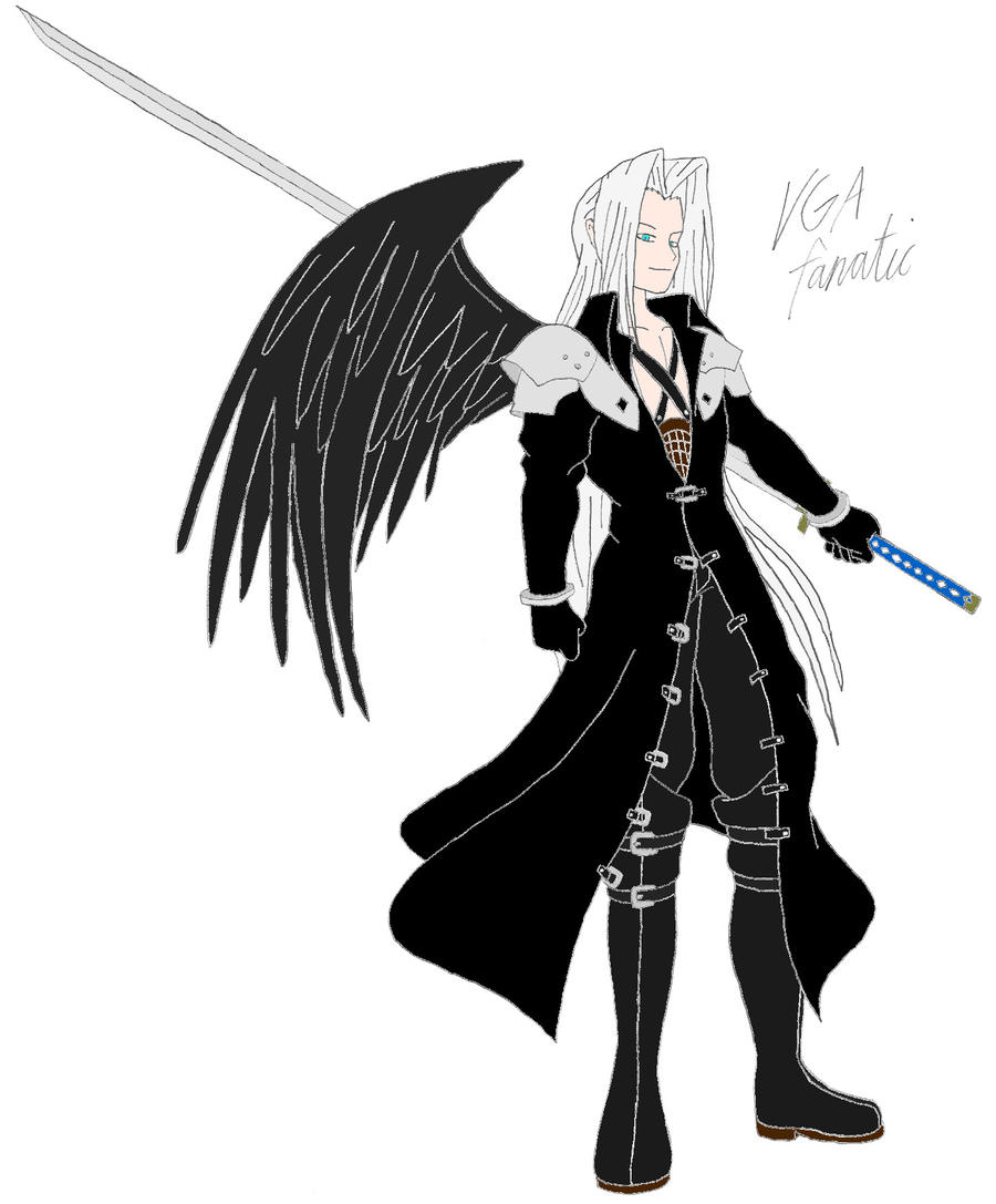 Sephiroth By Vgafanatic On Deviantart