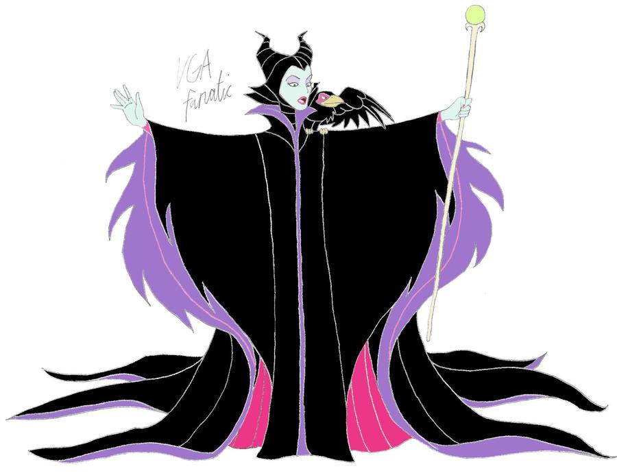 maleficent by vgafanatic on deviantart