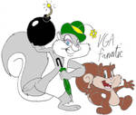 Slappy and Skippy Squirrel