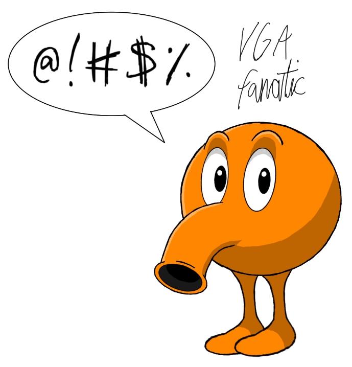 Q Bert By VGAfanatic