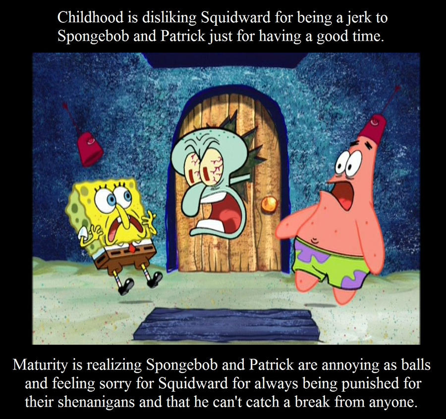 childhood___maturity__squidward_by_vgafanatic d6i3prw childhood maturity squidward by vgafanatic on deviantart