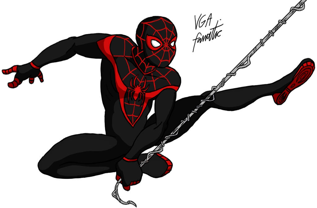 spiderman coloring pages miles morales - photo#27