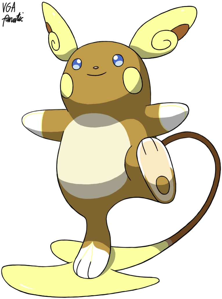 Pokemon Sun And Moon Alola Forms Raichu