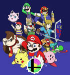Super Smash Bros: The Original Twelve