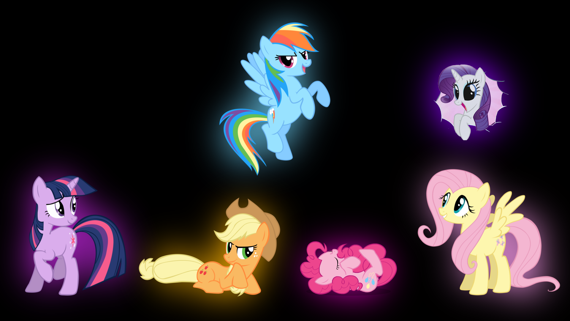android mane 6 wallpaper - photo #22