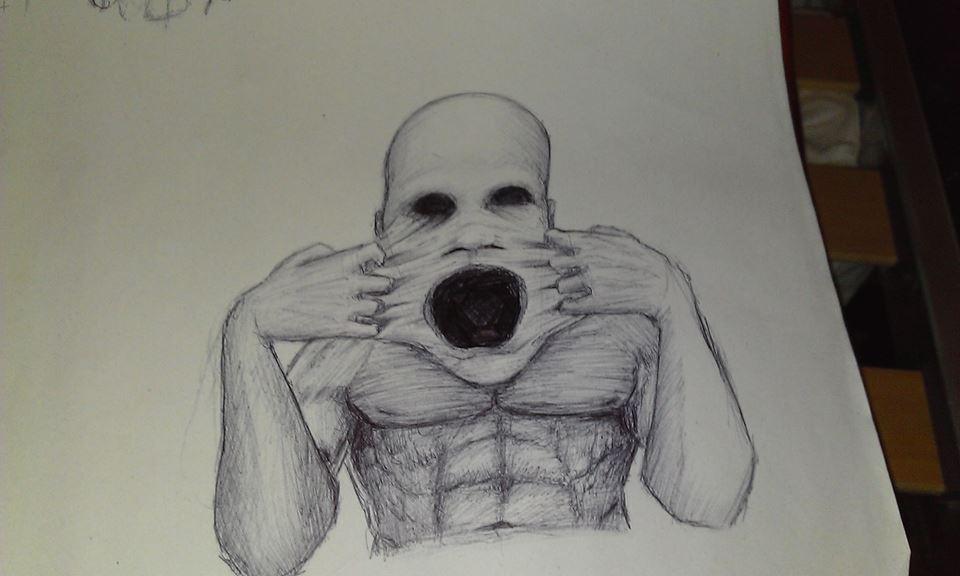 easy creepy pencil drawings - photo #12