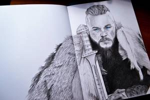 Ragnar Lothbrok - Sketch by Alice-Delacroix