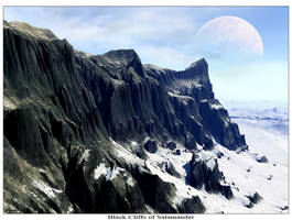 Black Cliffs of Salamander by Korrektor