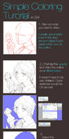 SAI Coloring Tutorial