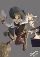 Witch by Riyoshii