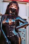 hot latex girl