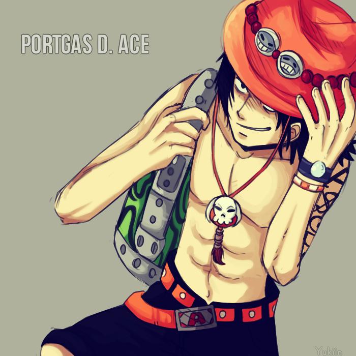 Portgas D. Ace by Yukiin