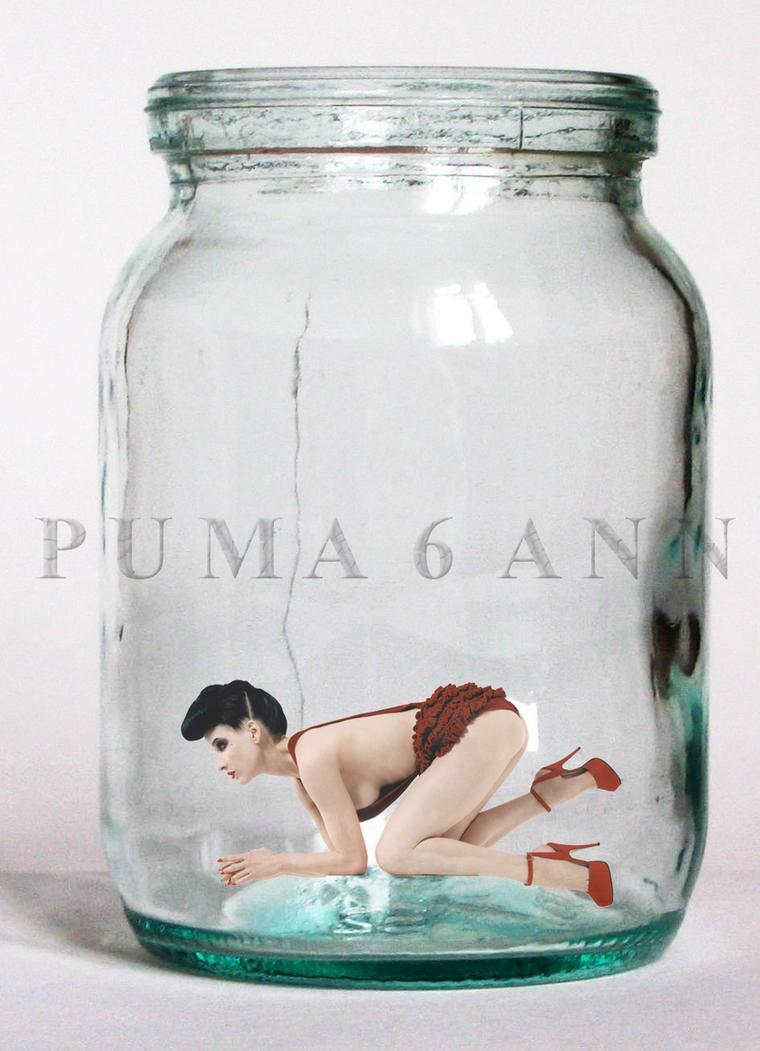 One woman, one jar by puma6ann