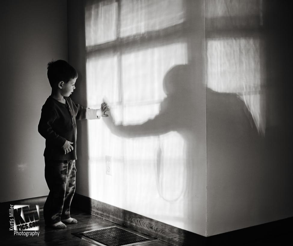 My shadow by kurtywompus