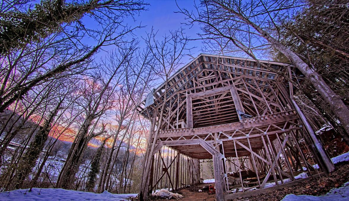 That Old Barn by kurtywompus