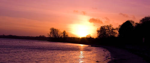 January Sunset by SorenWrang