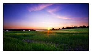 Summer Sunset by SorenWrang